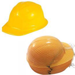 Vestido de plástico vestido online-Nuevo Divertido Vestir Sombreros de Fiesta Sombreros de Construcción Sombreros de Plástico Suave Accesorios de Traje de Niños Regalos WX9-398