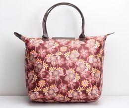 Wholesale Cloth Soft Book - Donqian 2018 Hot Portable Portable Leisure Canvas Book Green Bag Fold Shopping bag Oxford cloth Large capacity Female