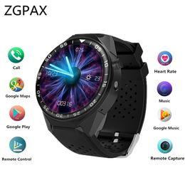 2019 2gb карта оптовой Оптовая S99C PRO Bluetooth смарт-часы с камерой 2 ГБ оперативной памяти 16 ГБ ROM поддержка SIM-карты 3G WIFI GPS Smartwatch для Android IOS телефон скидка 2gb карта оптовой