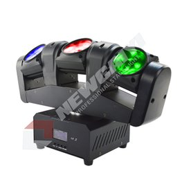 Wholesale rgbw led moving head beam - 3 trinal arch Beams 4in1 RGBW Led infiniteD moving head lights for dj bar party event