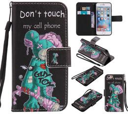 слоновая кошелек для телефона Скидка Dont Touch my Phone Эйфелева башня слон тигр флип бумажник PU кожаный чехол для iphone X XS Max XR 8 7 6 6 S Plus 5s Samsung S8 S9 Plus