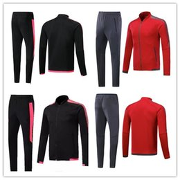 Wholesale Uniform Coats - hot 2017 2018 Gunners Jacket training coat 17 18 OZIL WILSHERE GIROUD LACAZETTE tracksuits Uniform Sport Training jacket set