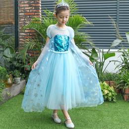 Vestidos para niñas Princesa Falda Vestido completo Vestido de cumpleaños Día internacional de los niños Practique ropa desde fabricantes