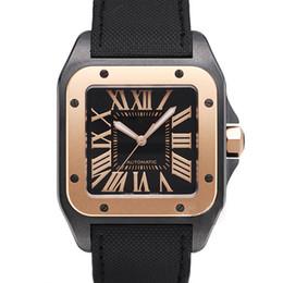 2019 correias de relógio de tecido mens Top venda mens Watch CAR BALLON W7100037 movimento automático Mecânico Mens Relógios Teclado De Pulso Relógio Fidel Fecho frete grátis correias de relógio de tecido mens barato