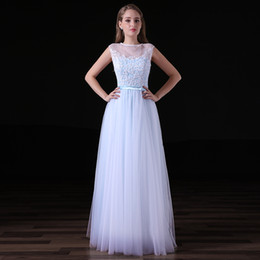 jenny packham vestidos de noiva backless Desconto Jóia por atacado de volta vestido de renda com zíper vestido barato vestido simples Bainha Vestidos De Noiva com o comprimento do chão CYH0000A017