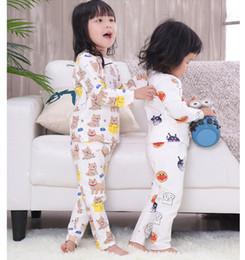 pigiama sirena Sconti Bambini Pigiama Moda 2018 Bambini Ragazze Abbigliamento Casual Cartoon Pigiama Set Cotone Ragazzi Ragazze Pigiama Abbigliamento bambini Abbigliamento da notte Pigiameria 1-5T