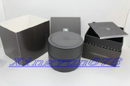 Wholesale Gift Boxes Free Shipping - Free shipping Luxury round watches leather Tag heuer watch Boxes Gift Box leather Watch Box Men's Watches box watches boxs