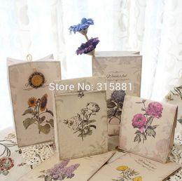 Wholesale Wedding Favour Party Flower - Flower receive paper bag, Gift Bags, Party, Lolly,Favour, Wedding, Packaging 22x12x6cm Mix 24pcs lot