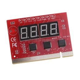 Wholesale computer diagnostic - Computer PCI POST Card Motherboard LED 4-Digit Diagnostic Test PC Analyzer #H029#