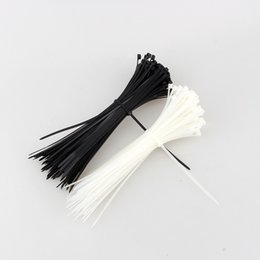 Wholesale Plastic Cable Ties - 100pcs lot 100mm x 3mm Self-Locking Network Nylon Plastic Cable Wire Zip Tie Cord Strap