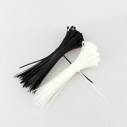 Wholesale wholesale nylon zip ties - 100pcs lot 100mm x 3mm Self-Locking Network Nylon Plastic Cable Wire Zip Tie Cord Strap