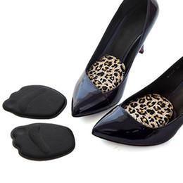 orteils chauds semelles souples Promotion Semelle chaude Coussins de pied à talon haut Semelles antidérapantes à l'avant-pied Chaussures respirantes Coussin moelleux Coussins de soutien aux orteils avant-pieds