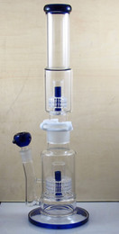 Wholesale 19 Tube - Build A Bong 19 Inch two parts tube connect with clip big huge glass water pipe