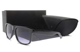 Wholesale uv block - Best designer sun glasses new york high street justin model brand sunglasses block sunrays 4165 100% uv protection des lunettes de soleil