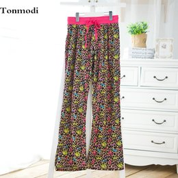 Wholesale Maternity Bottoms - Women 's sleep pants clothing autumn pajama pants cotton loose long trousers maternity Sleep Bottoms