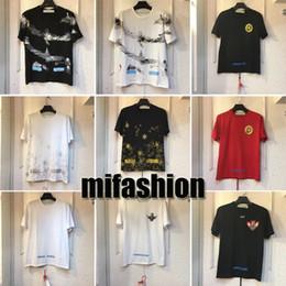 Wholesale america long - 2018 Brand Fashion Luxury Designer T shirt America New York High Quality Men Women Clothing T-Shirt Print Casual Cotton Tee Top
