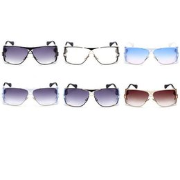 Wholesale carries lenses - Fashion PC Lenses Eyeglasses Personality Soft Easy To Carry Sunglasses Anti UV400 Men Women Sun Glasses Gradient Color 30lj B