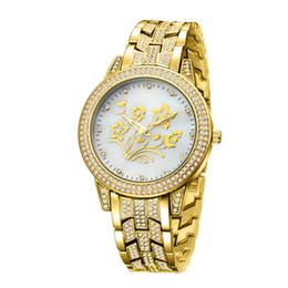 designer prata diamante senhoras assistir Desconto BELBI Mulheres de Luxo China Relógio de Pulso de Quartzo-Bateria Designer de Senhoras Vestido À Prova D 'Água de Aço Inoxidável de Diamante de Prata de Ouro T / T Relógios