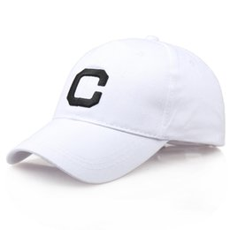 Men Women Letter Hats Hip-Hop Adjustable Baseball Cap hip hop summer cap  men sun hats for women 1237ec19a760