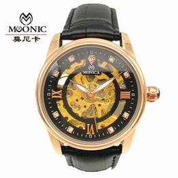 2019 relojes guangzhou Reloj mecánico automático New Woman's Belt Watch Moda Hollow Perspective impermeable Reloj mecánico Directo de fábrica de Guangzhou China rebajas relojes guangzhou