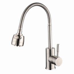 Robinets de bassin en bronze en Ligne-304 en acier inoxydable robinet de cuisine chaud et froid légumes lavabo mélangeur universel rotatif robinet évier robinet torneira