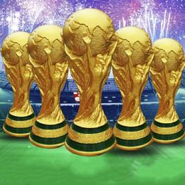 Große tassen online-Nagelneuer 2018 Russland-Weltmeisterschaft-Replik-Trophäen-Meister Groß für Geschenke in voller Größe 13/21/27 / 36cm groß Geben Sie Schiff A-636 frei