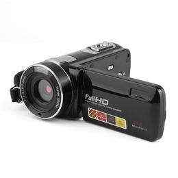 mini cámara digital mp Rebajas Cámara de Video Digital Portátil Videocámara de Visión Nocturna Full HD 1080P 3.0 Pulgadas 24 MP Pantalla Táctil LCD 18x Zoom Mini Videocámara DV