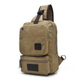 e90d6bcde61 Fashion Canvas Crossbody Bags For Men Women Large Casual Shoulder Sling Bag  Men Solid Color Leisure Messenger Chest Bag 1262