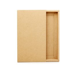 iphone empty box wholesale UK - 30 pcs Retail Packaging Kraft Paper Cardboard Package for iPhone 7 7 Plus X Blank Empty Gift Box for Xiaomi LG Samsung Case