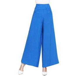 8c0a6559a59 Plus Size 3XL Wide Leg Pants Large Size XXL Women Trousers 2017 Big Size  Female Long Pant Full Figure Office Lady XL Clothes