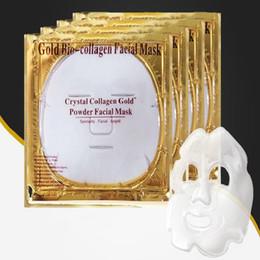 Masque Visage Or Bio Collagène Masque Visage Masque Cristal Or Poudre Collagène Visage Masque Hydratant Anti-âge Beauté Soins de La Peau 50 pcs ? partir de fabricateur