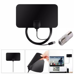 50 miglia TV digitale coperta Antenna radio TV Surf TV Fox Antena HDTV Antenne Ricevitore Amplificatore Mini DVB-T / T2 Antenna da