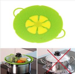 Wholesale Boiling Pan - Flower Petal Boil Spill Stopper Silicone Lid Pot Lid Cover Cooking Pot Lids Utensil Pan Cookware Parts Kitchen Accessories 100Pcs