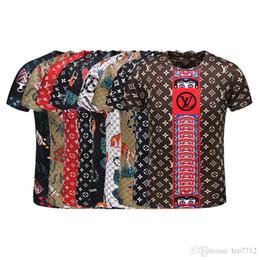Wholesale g dog - newest G Fashion casual men's Brand Tshirt Male Short Sleeve T Shirt O-Neck medusa Men snake DOG Letter polo Tee Tops Shirt