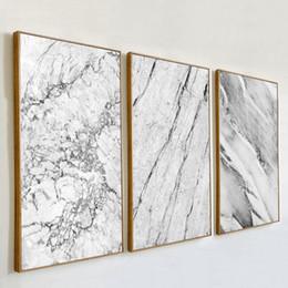 pinturas grandes arboles Rebajas Resumen de mármol gris Pinturas venas lona Poster nórdicos y el marco del arte pop impresiones cuadros de la pared para sala de estar Decoración NO