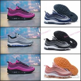 Wholesale Lowest Brand Max - New Arrival Maxes 97 UL 17 Running shoes maxes 97s ultra 17s Silver Bullet Triple Black Walking Shoe Brand Sports Sneakers 5.5-12