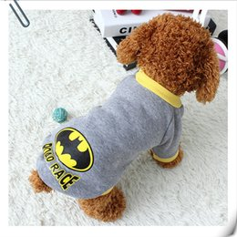 Wholesale Female Superheroes - Warm Pet Dog Clothes Puppy Coat Clothing for Small Dogs Sweatshirt Vest Superhero Costume Winter Dog Clothes Apparel