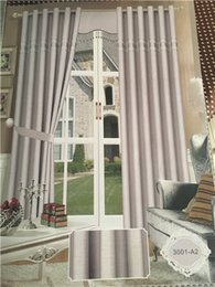 Wholesale Embroidered Sheer Curtains - Window European Luxury Embroidered Voile Curtain Sheer Curtain purple blue brown Tulle Window Curtains for LivingRoom