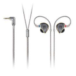 FiiO FH5 металлический корпус Knowles съемный кабель MMCX дизайн Quad драйвер гибридный HiFi наушники 3.5 мм для iOS и Android от
