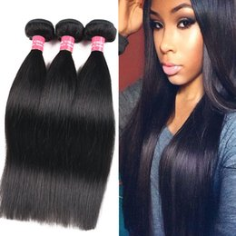 Wholesale Brazilian Body Wave Remy Hair - 8A Remy Brazilian Silk Straight Body Wave Deep Wave Kinky Curly Loose Wave 100% Unprocessed Brazilian Peruvian Malaysian Human Hair Weaves