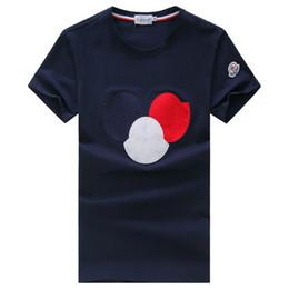 Los hombres de manga corta camiseta de cuello redondo de verano estilo nuevo camiseta suelta la mitad de la manga de la ropa superior de Corea de la moda de los hombres de desgaste de los pantalones desde fabricantes