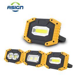 Superheller tragbarer Scheinwerfer 5V USB des USB-wiederaufladbare im Freienbeleuchtung 400LM führte Flutlicht-Scheinwerfer für das Jagdcamping von Fabrikanten