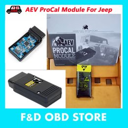 Wholesale unlimited free - 2018 New Arrival AEV ProCal Module For Jeep Wrangler & Wrangler Unlimited JK with best price diagnostic Tool Free shipping