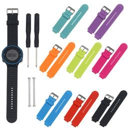 Faixa de pulso da substituição do silicone para o relógio de Garmin Forerunner230 / 235/630/735 GPS de Fornecedores de xbox original