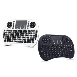 Li batteria ad aria online-Yakee i8 air mouse Batteria agli ioni di litio Versione inglese Telecomando Touchpad portatile per Android TV BOX Tablet portatile