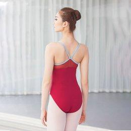 Correa para adultos Profesional Ballet Gimnasia Leotardo para Mujeres Danza Disfraces Bailarina Baile Ropa Body Dancer Ropa desde fabricantes