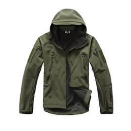 Canada TAD Soft Shell V4.0 Lurker Veste Tactique Militaire Hommes Imperméable Coupe-Vent Camouflage Veste À Capuche Chasse Vêtements Y1893006 cheap hunting clothing Offre