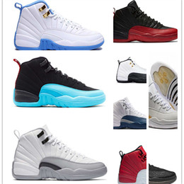 Wholesale Valentines Man - With Box High Quality Women 12 GS Hyper Violet Youth Pink Valentines Day Basketball Shoes Girls 12s The Master Taxi Sneakers