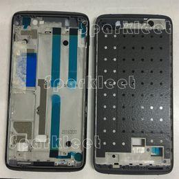 Alcatel original um toque on-line-Quadro dianteiro original para Alcatel One Touch ídolo 4 6055 OT6055 6055K 6055B 6055Y frente Habitação Telefone Habitação