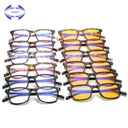 ab4a6ccf03 VCKA TR90 Mujeres Anti-Blue Light Glasses Frame Hombres Marca Gafas Ultra- Light Square Frames Retro Vintage gafas barato marcos ultra ligeros de gafas
